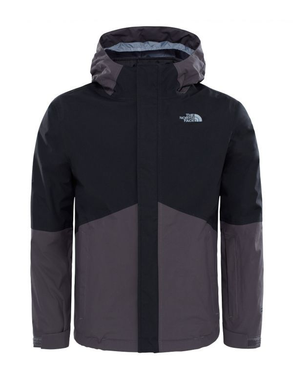 THE NORTH FACE KIDS BOUNDARY JACKET BLACK