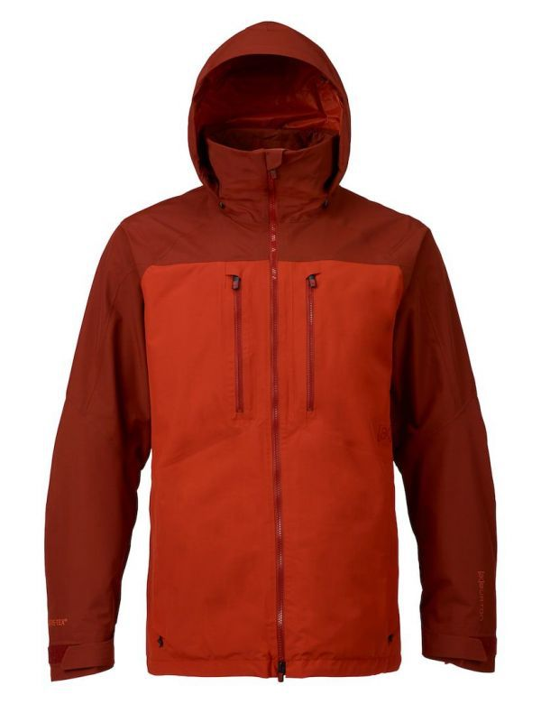 BURTON AK 2L SWASH JACKET fired brick bitters
