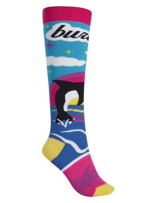 burton party sock coffee and donuts