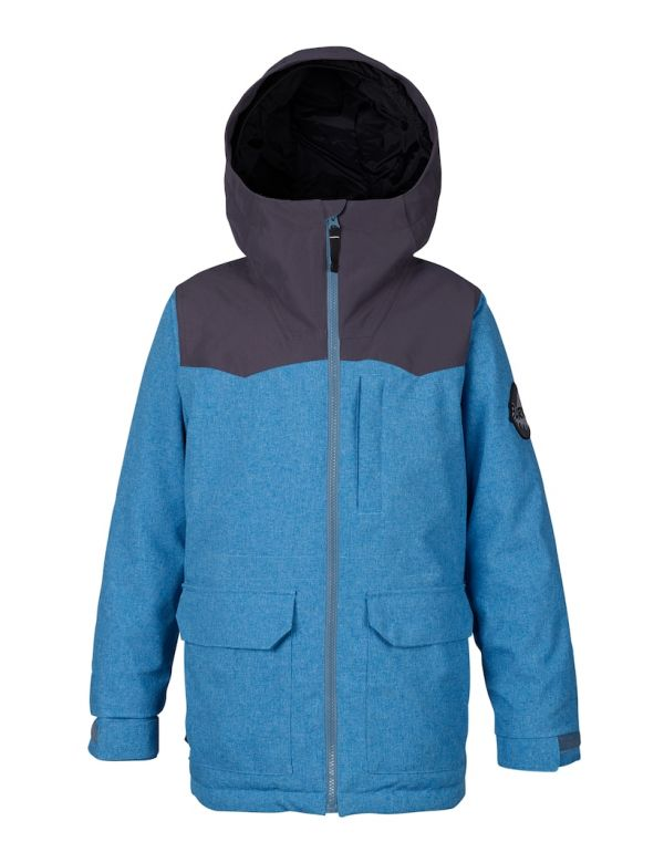 BURTON BOYS PHASE JACKET Bluestone / Faded
