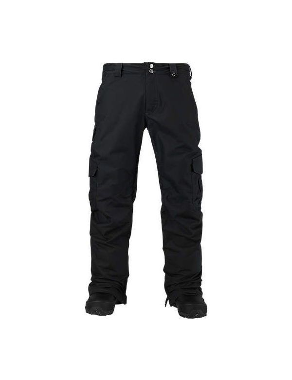 BURTON CARGO PANT MID FIT true black