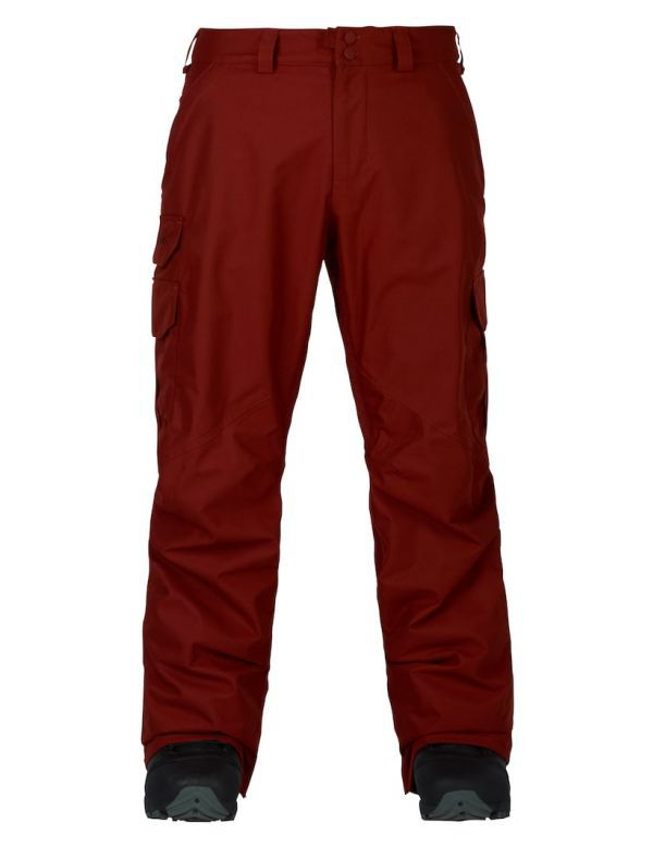 BURTON CARGO PANT MID FIT fired brick