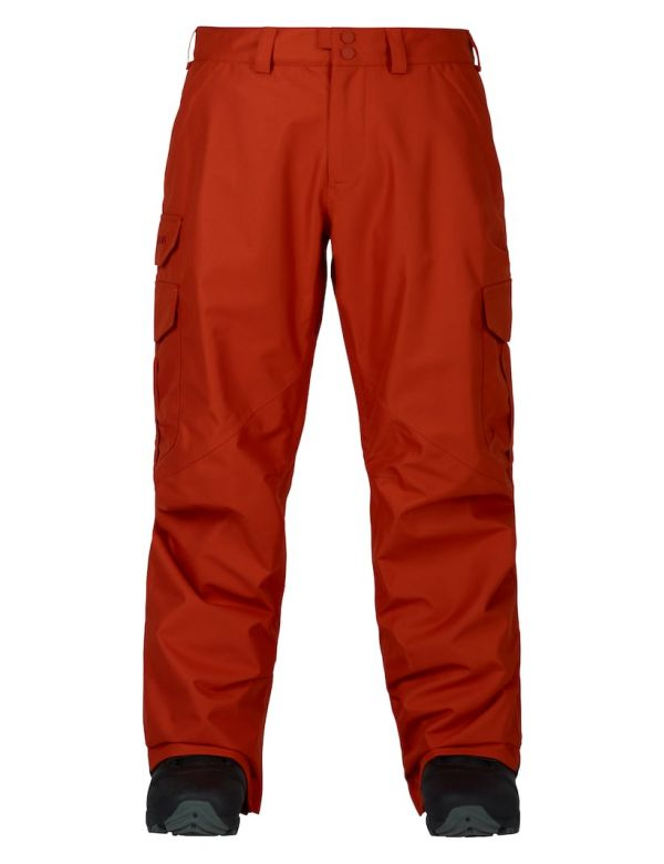 BURTON CARGO PANT MID FIT clay
