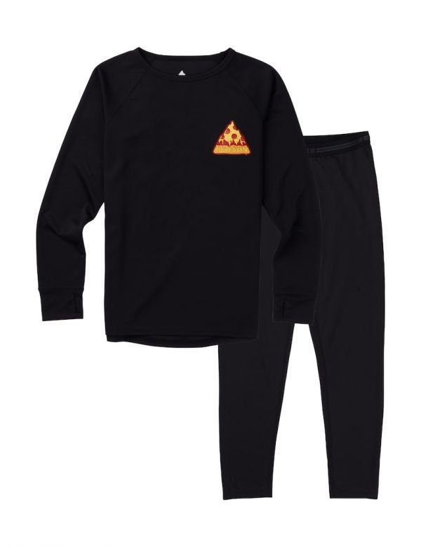 BURTON YOUTH 1ST LAYER SET true black