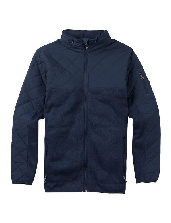 BURTON PIERCE FLEECE mood indigo