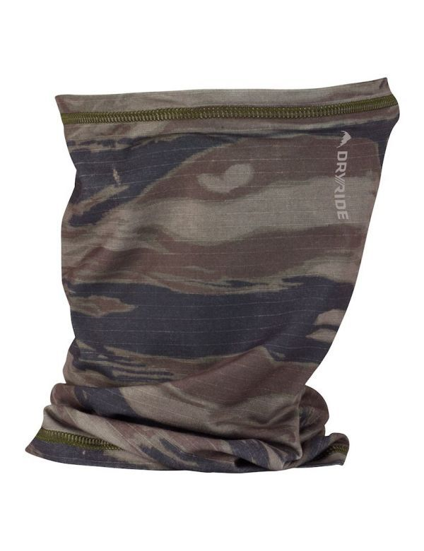 BURTON MIDWEIGHT NECK WARMER olive green