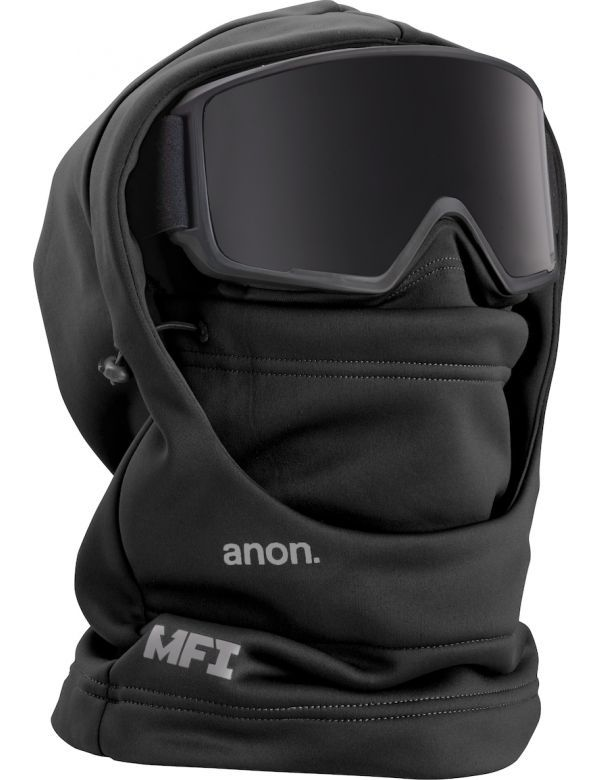 ANON MFI HOODED CLAVA black