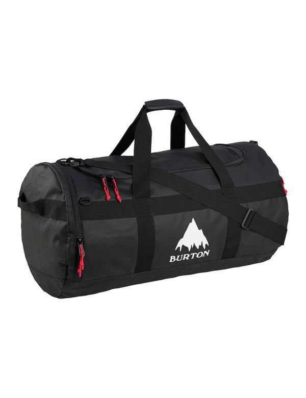 BURTON BACKHILL DUFFEL 90L true black