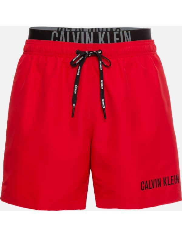 CALVIN KLEIN MEDIUM DOUBLE WB ZWEMSHORT Red