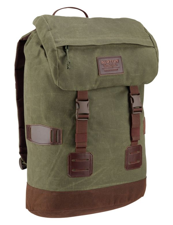 BURTON TINDER PACK forest night waxed