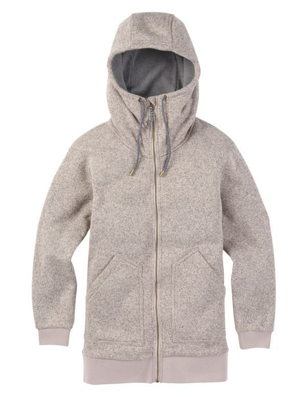 BURTON WOMEN'S MINXY FULL ZIP dove heather