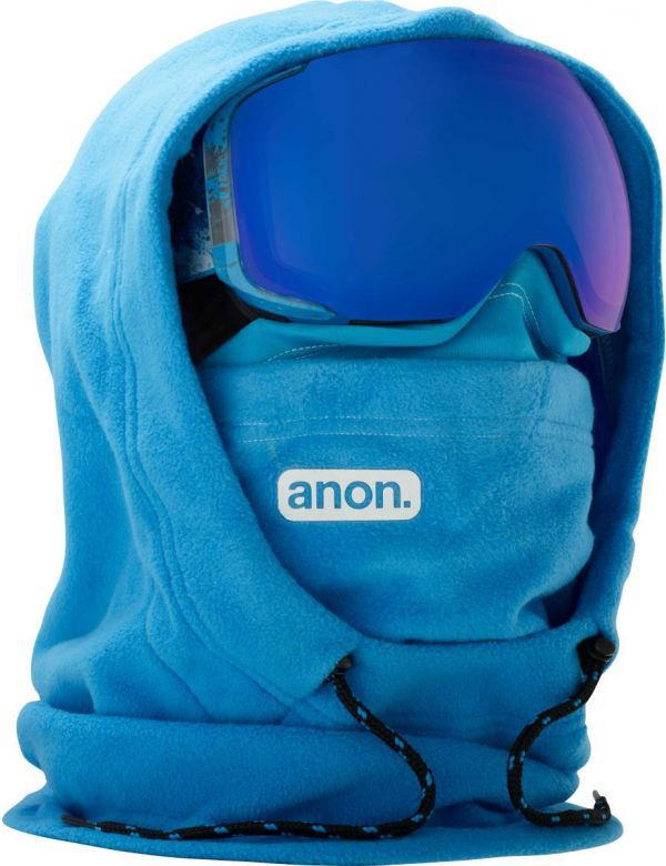 ANON MFI XL HOODED CLAVA blue