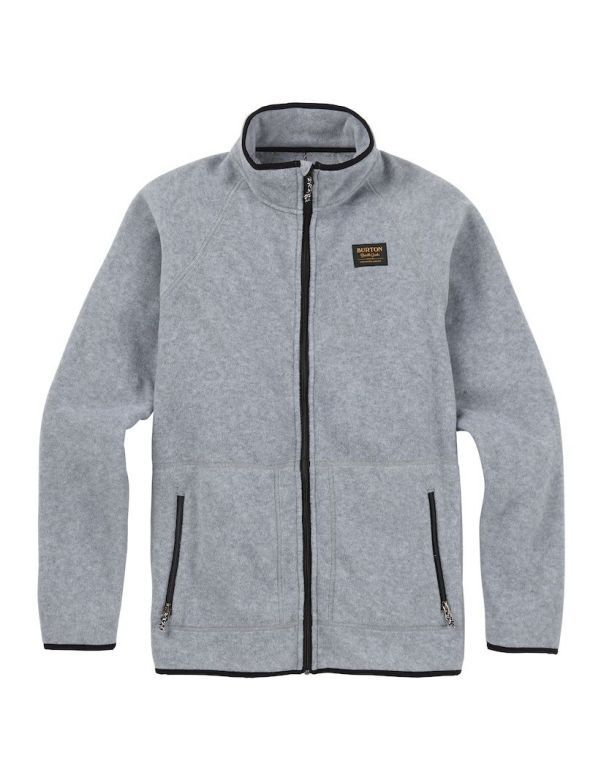 BURTON EMBER FULL ZIP FLEECE Shade heather
