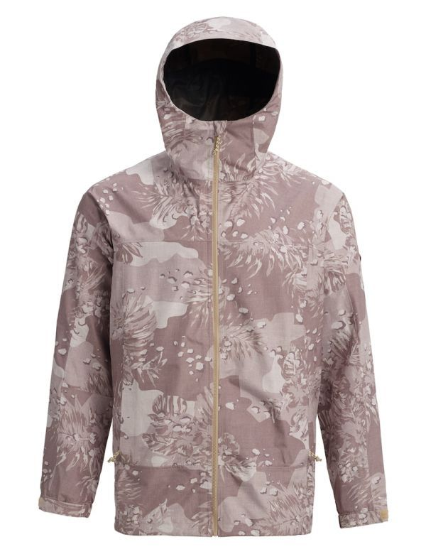 BURTON GORE‑TEX® PACKRITE RAIN JACKET safari Hawaiian