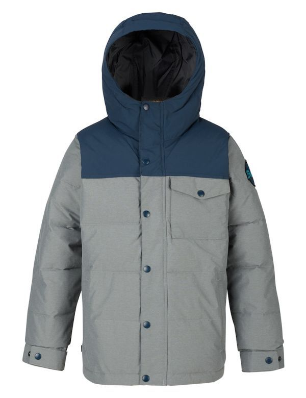 BURTON BARNONE JACKET shade heather / mood indigo
