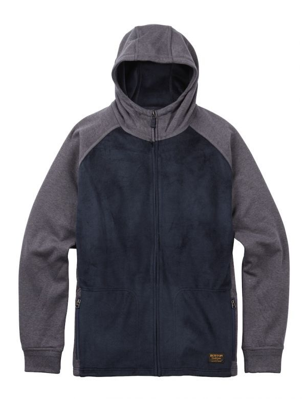 BURTON ROLSTON FULL ZIPP FLEECE mood indigo