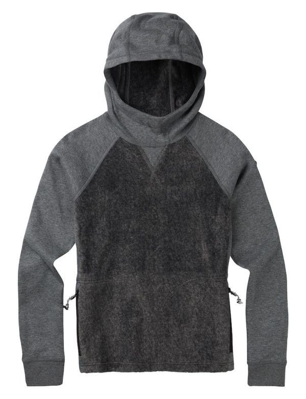 BURTON WOMEN'S ROLSTON FLEECE gray heather