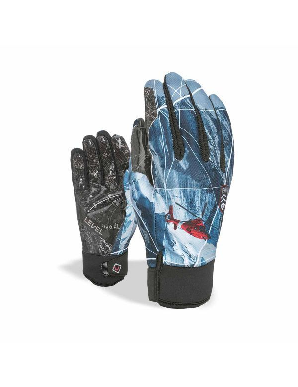 LEVEL PRO RIDER GLOVE Blue-gray