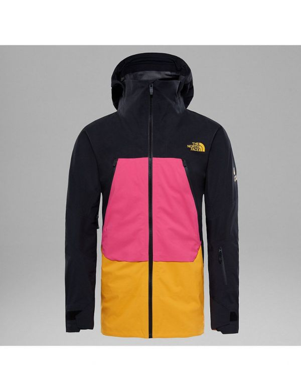 THE NORTH FACE M PURIST TRICLIMATE ® JAS PINK ZINNIA ORANGE