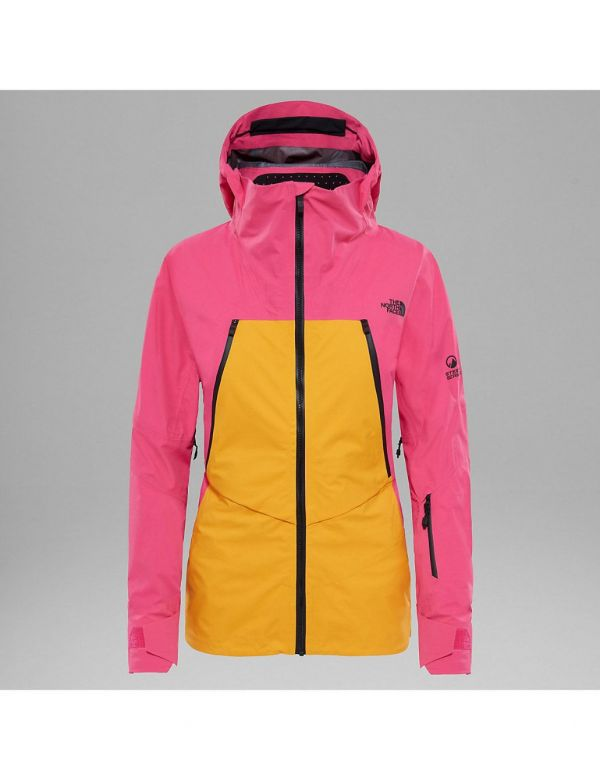 THE NORTH FACE W PURIST TRICLIMATE ® JAS PINK ORANGE PINK