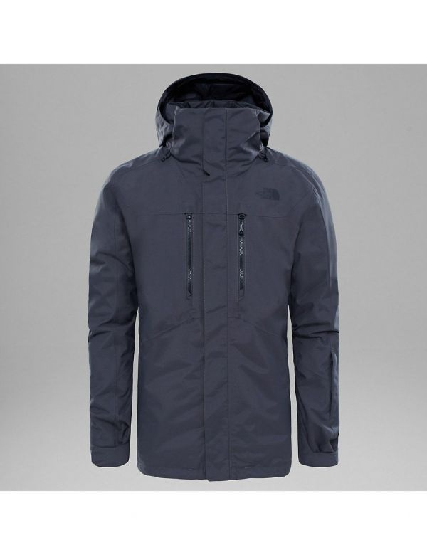 THE NORTH FACE M CLEMENT TRICLIMATE JACKET ASPHALT GREY
