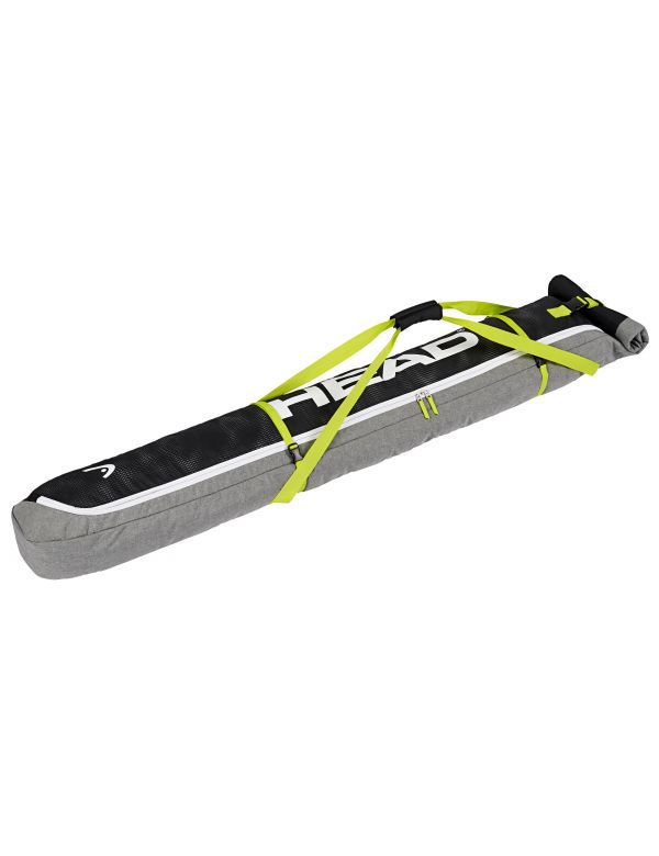 HEAD SINGLE SKI BAG grey yellow