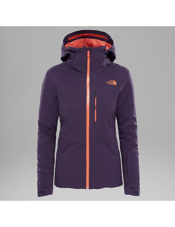 THE NORTH FACE W LENADO JACKET DARK EGGPLANT PURPLE