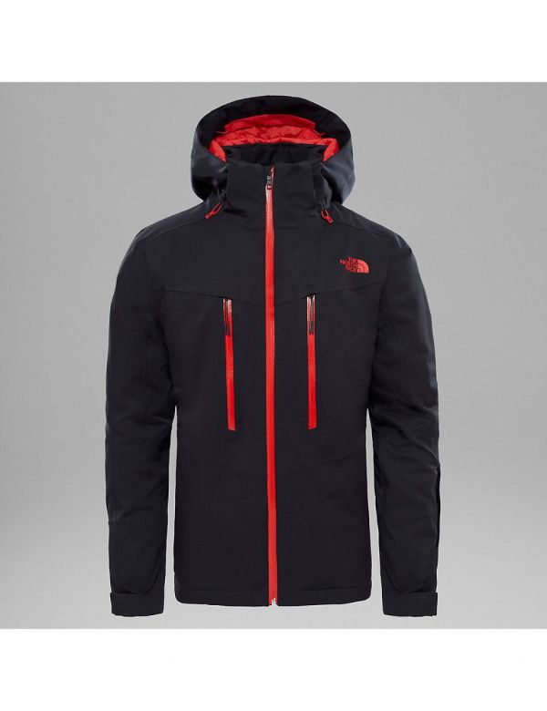THE NORTH FACE CHAKAL JACKET BLACK RED