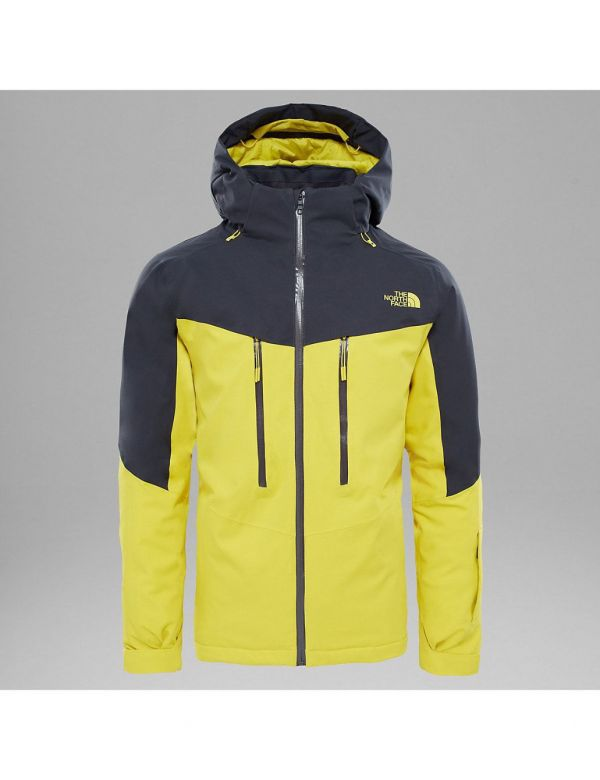 THE NORTH FACE M CHAKAL JACKET ACID YELLOW ASPHALT GREY