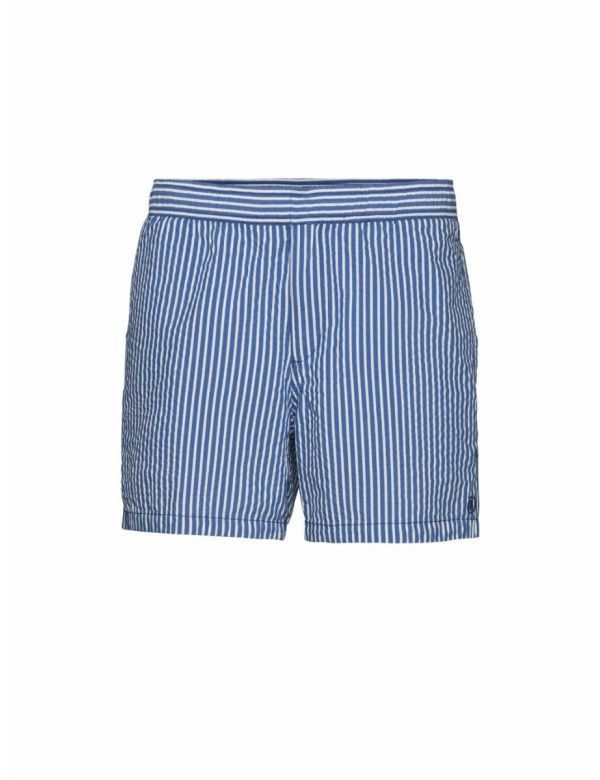 BOGNER ZWEMSHORTS NILO washed blue/white