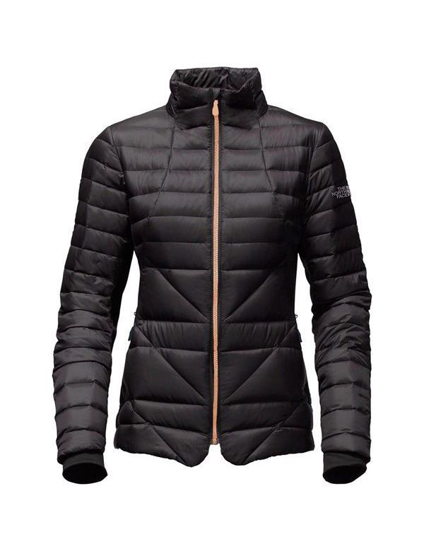 THE NORTH FACE W LUCIA HYBRID DOWN JACKET BLACK
