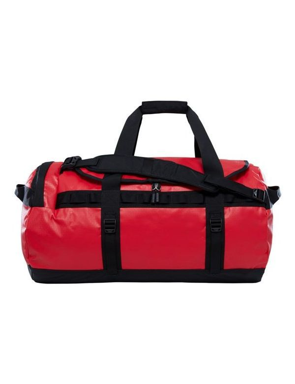 THE NORTH FACE BASE CAMP DUFFEL M red black