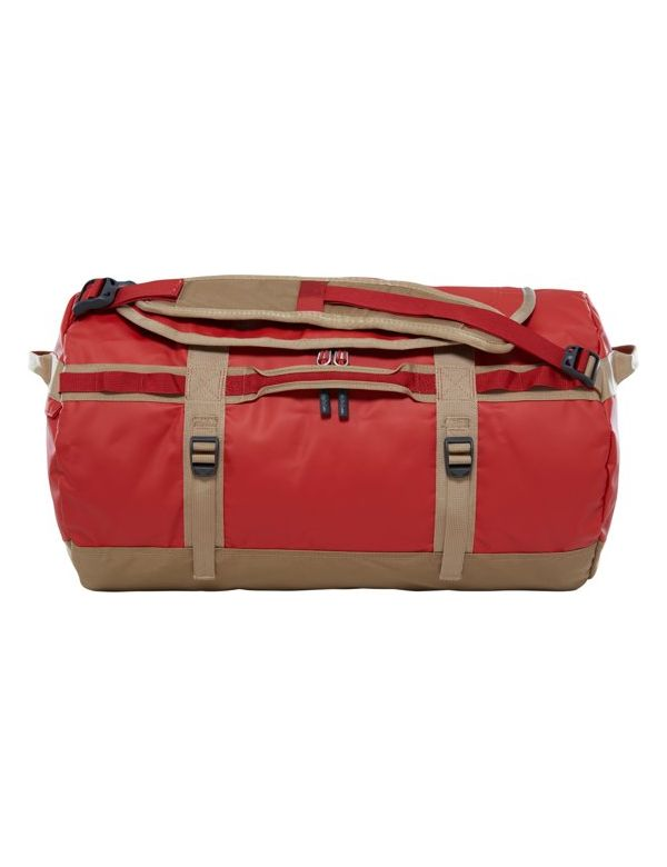 THE NORTH FACE BASE CAMP DUFFEL S Bossa nova red kelp