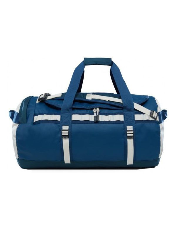 THE NORTH FACE BASE CAMP DUFFEL Blue wing teal vintage white