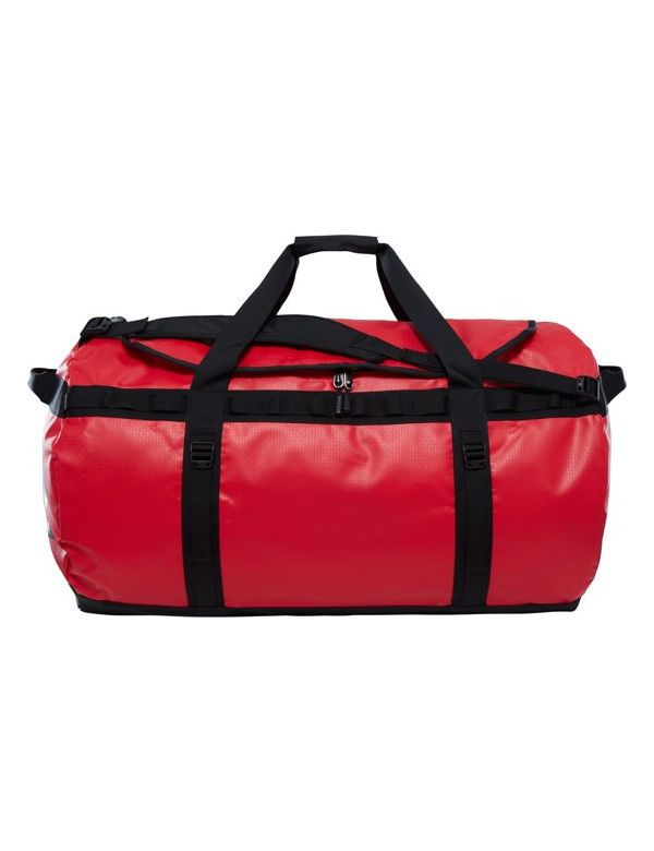 THE NORTH FACE BASE CAMP DUFFEL XL red black