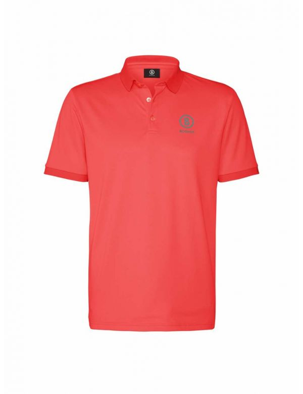 BOGNER POLO SHIRT DANIEL Neon watermelon