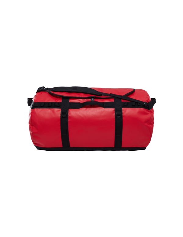 THE NORTH FACE BASE CAMP DUFFEL XXL red black