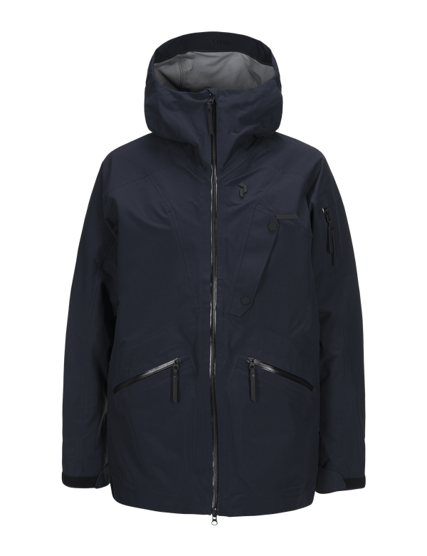 PEAKPERFORMANCE MEN'S BEC SKI JACKET SALUTE BLUE