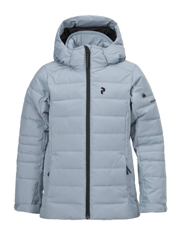 PEAKPERFORMANCE KIDS BLACKBURN SKI JACKET DUSTIER BLUE