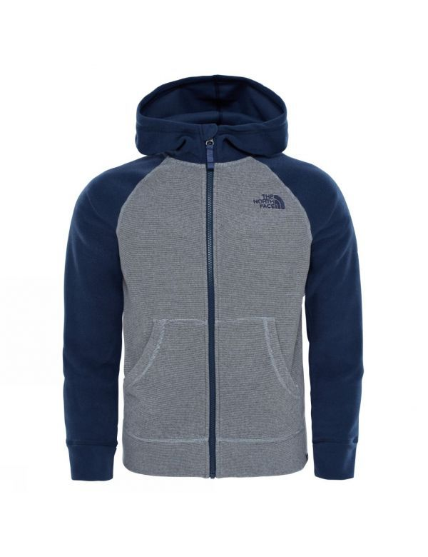 THE NORTH FACE BOYS GLACIER FULL ZIP COSMIC BLUE