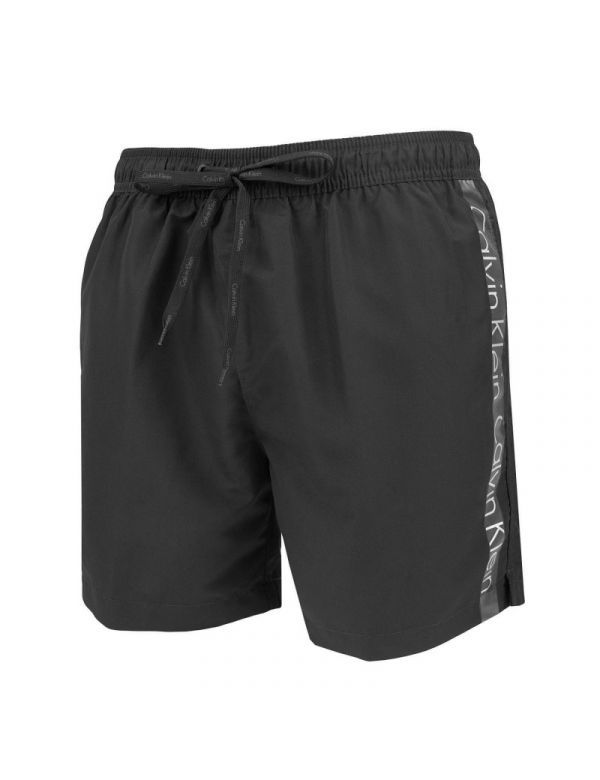 CALVIN KLEIN MEDIUM DRAWSTRING ZWEMSHORT black