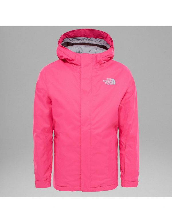 THE NORTH FACE KIDS SNOW QUEST JACKET PETTICOAT PINK