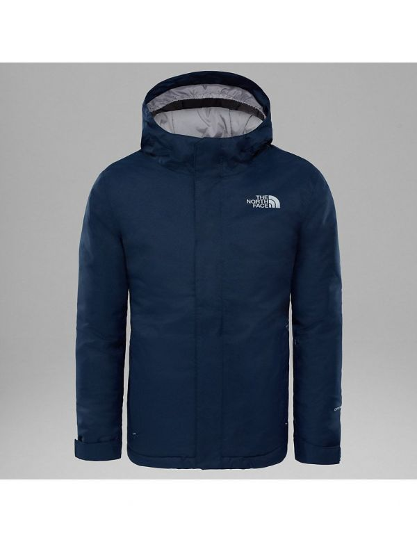 THE NORTH FACE KIDS SNOW QUEST JACKET COSMIC BLUE