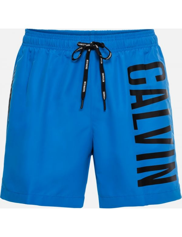 CALVIN KLEIN MEDIUM DRAWSTRING ZWEMSHORT blue