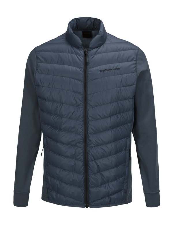 PEAKPERFORMANCE MEN'S FROST HYBRID JACKET BLUE STEEL