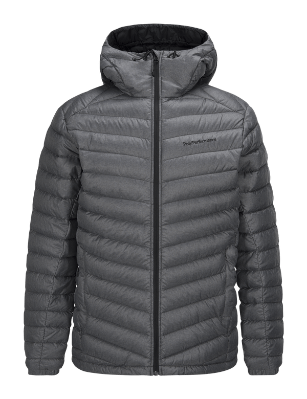 PEAKPERFORMANCE MEN'S MELANGE FROST DOWN LINER JACKET DK GREY MEL