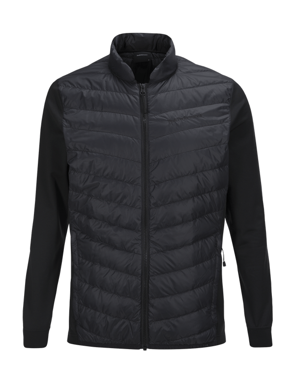 PEAKPERFORMANCE MEN'S FROST HYBRID JACKET BLACK