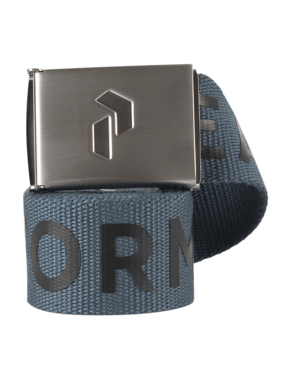 PEAKPERFORMANCE RIDER BELT BLUE STEEL