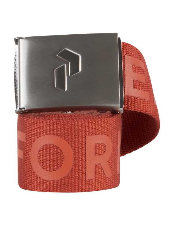 PEAKPERFORMANCE RIDER BELT ORANGE PLANET
