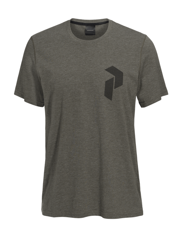 PEAKPERFORMANCE MEN'S TRACK TEE terrain green